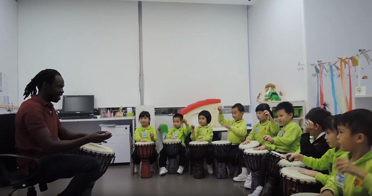 2015-2016年度非洲鼓堂(鄭老師班)